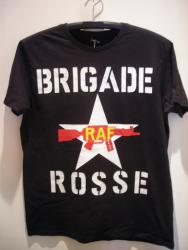 BRIGADE ROSSE T-SHIRT/BLACK M-SIZE