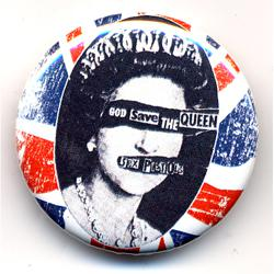 SEX PISTOLS BUTTON BADGE/GSQ