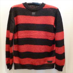 666 MOHAIR SWEATER BR4/M-SIZE