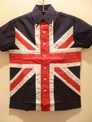 RELCO LONDON UNION JACK SHIRT/XS-SIZE
