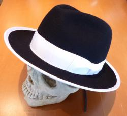 PAUL SIMMNON/THE CLASH TYPE FELT HAT/WB/M-SIZE
